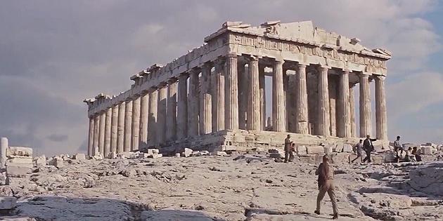 Οι τέσσερις ταινίες που γυρίστηκαν πάνω στην Ακρόπολη [video]