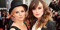 Keira Knightley και Sienna Miller Ανοιξαν Το 62ο Φεστιβάλ Εδιμβούργου.