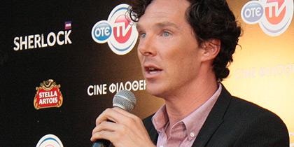 """Συζητώντας στην Αθήνα με τον """"Sherlock"""" Benedict Cumberbatch [video]"""