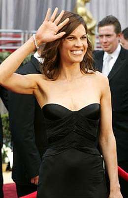 Hilary swank oscar burger