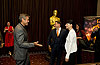  George Clooney (The Descendants), Jonah Hill (Moneyball)  Rooney Mara (The Girl With The Dragon Tattoo) 
