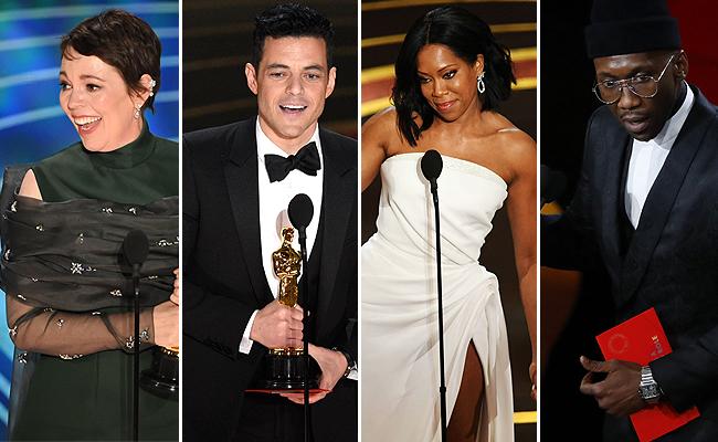 Oscars: Colman, Malek, King, Ali: Οι ευχαριστήριες ομιλίες στα τέσσερα βραβεία ερμηνείας [videos]